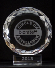 Bizrate Circle of Excellence award